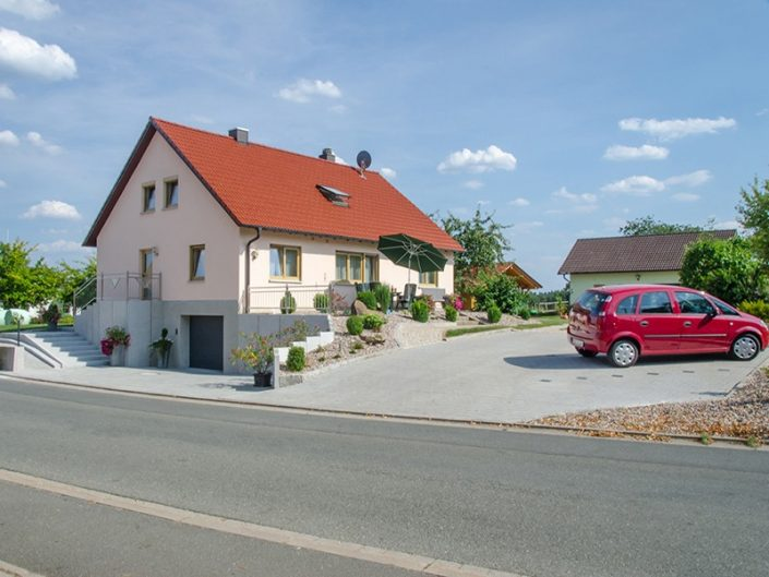 Gasthof, Pension Knopfloch in Waidach bei Pottensein in der Fränkischen Schweiz
