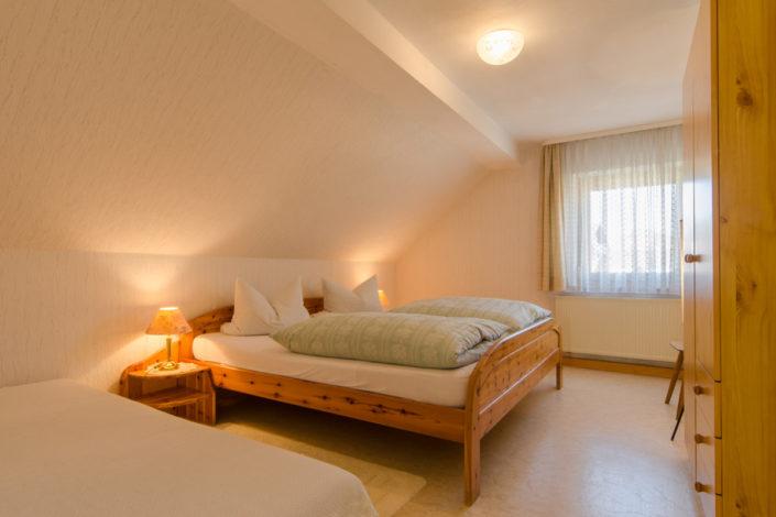 Die Ferienwohnung im Gasthof Zum Knopfloch in Waidach bei Pottenstein in der Fränkischen Schweiz.